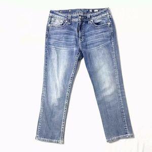 Miss Me Boyfriend Capri Cropped Jeans